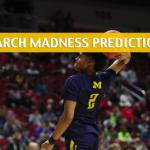 Florida Gators vs Michigan Wolverines Predictions, Picks, Odds, and NCAA Basketball Betting Preview – March 23 2019
