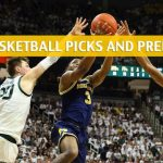 Michigan Wolverines vs Michigan State Spartans Predictions, Picks, Odds, and NCAA Basketball Betting Preview - March 17 2019