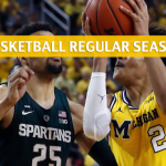 Michigan Wolverines vs Michigan State Spartans Predictions, Picks, Odds, and NCAA Basketball Betting Preview – March 9 2019