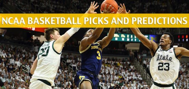 Michigan Wolverines vs Michigan State Spartans Predictions, Picks, Odds, and NCAA Basketball Betting Preview – March 17 2019