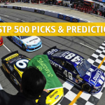 STP 500 Predictions, Picks, Odds, and Betting Preview - NASCAR Monster Energy Cup Series 2019