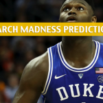 North Dakota State Bison vs Duke Blue Devils Predictions, Picks, Odds, and NCAA Basketball Betting Preview – March 22 2019