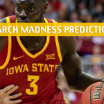 Ohio State Buckeyes vs Iowa State Cyclones Predictions, Picks, Odds, and NCAA Basketball Betting Preview – March 22 2019