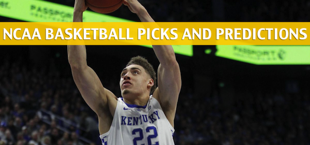 Tennessee Volunteers vs Kentucky Wildcats Predictions, Picks, Odds, and NCAA Basketball Betting Preview – March 16 2019