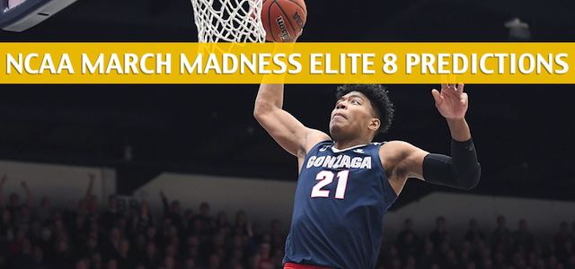 Texas Tech Red Raiders vs Gonzaga Bulldogs Predictions, Picks, Odds, and NCAA Basketball Betting Preview – March 30 2019