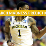 Texas Tech Red Raiders vs Michigan Wolverines Predictions, Picks, Odds, and NCAA Basketball Betting Preview - March 28 2019