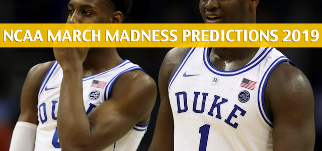 UCF Knights vs Duke Blue Devils Predictions, Picks, Odds, and NCAA Basketball Betting Preview – March 24 2019