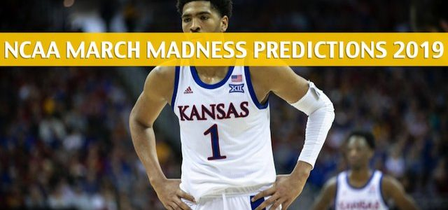 Auburn Tigers vs Kansas Jayhawks Predictions, Picks, Odds, and NCAA Basketball Betting Preview – March 23 2019