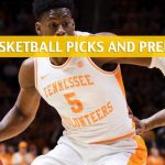Mississippi State Bulldogs vs Tennessee Volunteers Predictions, Picks, Odds, and NCAA Basketball Betting Preview – March 15 2019