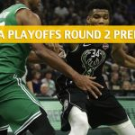 Boston Celtics vs Milwaukee Bucks Predictions, Picks, Odds, and NBA Basketball Betting Preview – Eastern Conference Playoffs Round 2 Game 1 – April 28 2019