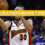 Los Angeles Clippers vs Golden State Warriors Predictions, Picks, Odds, and NBA Basketball Betting Preview – Western Conference Playoffs Round 1 Game 2 – April 15 2019