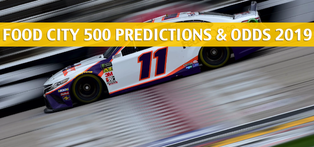 Food City 500 Predictions, Picks, Odds, and NASCAR Betting Preview – April 7 2019