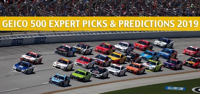 Geico 500 Expert Picks and Predictions 2019