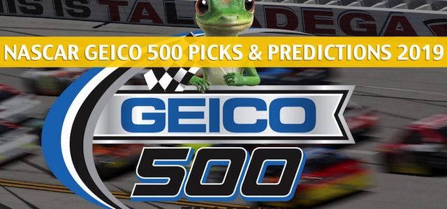 Geico 500 Predictions, Picks, Odds, and Betting Preview – NASCAR Monster Energy Cup Series 2019
