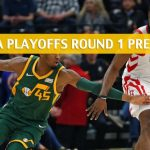 Utah Jazz vs Houston Rockets Predictions, Picks, Odds, and NBA Basketball Betting Preview - Western Conference Playoffs Round 1 Game 2 - April 17 2019