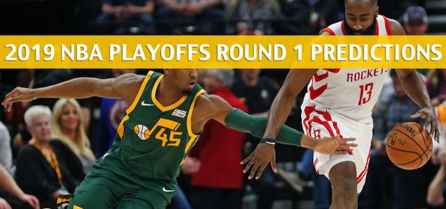 Utah Jazz vs Houston Rockets Predictions, Picks, Odds, and NBA Basketball Betting Preview – Western Conference Playoffs Round 1 Game 2 – April 17 2019