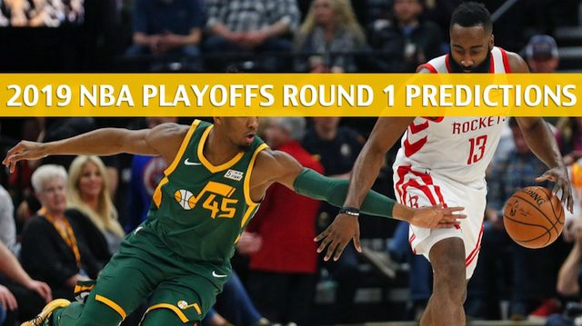 Jazz vs Rockets Predictions / Picks / Odds / Preview - Apr 17 2019