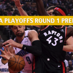 Orlando Magic vs Toronto Raptors Predictions, Picks, Odds, and Betting Preview - NBA Playoffs Eastern Conference Round 1 Game 1 - April 13 2019