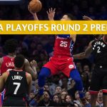 Toronto Raptors vs Philadelphia 76ers Predictions, Picks, Odds, and NBA Basketball Betting Preview – Eastern Conference Playoffs Round 2 Game 4 – May 5 2019
