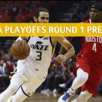 Houston Rockets vs Utah Jazz Predictions, Picks, Odds, and NBA Basketball Betting Preview – Western Conference Playoffs Round 1 Game 3 – April 20 2019