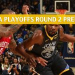 Houston Rockets vs Golden State Warriors Predictions, Picks, Odds, and NBA Basketball Betting Preview – Western Conference Playoffs Round 2 Game 2 – April 30 2019
