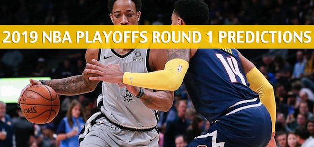 San Antonio Spurs vs Denver Nuggets Predictions, Picks, Odds, and NBA Basketball Betting Preview – Western Conference Playoffs Round 1 Game 2 – April 16 2019