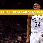 Oklahoma City Thunder vs Milwaukee Bucks Predictions, Picks, Odds, and NBA Basketball Betting Preview – April 10 2019