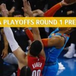 Oklahoma City Thunder vs Portland Trail Blazers Predictions, Picks, Odds, and NBA Basketball Betting Preview - Western Conference Playoffs Round 1 Game 5 - April 23 2019