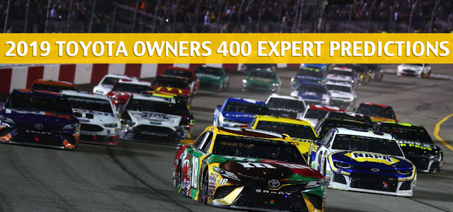 Toyota Owners 400 Expert Picks and Predictions 2019