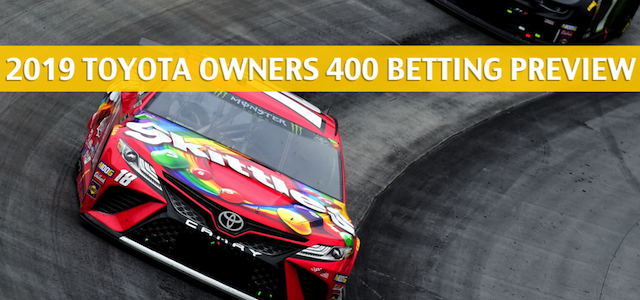 Toyota Owners 400 Predictions, Picks, Odds, and NASCAR Betting Preview – April 13 2019