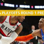 Portland Trail Blazers vs Oklahoma City Thunder Predictions, Picks, Odds, and NBA Basketball Betting Preview - Western Conference Playoffs Round 1 Game 3 - April 19 2019