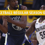 Golden State Warriors vs New Orleans Pelicans Predictions, Picks, Odds, and NBA Basketball Betting Preview - April 9 2019