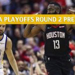 Golden State Warriors vs Houston Rockets Predictions, Picks, Odds, and NBA Basketball Betting Preview – Western Conference Playoffs Round 2 Game 3 – May 4 2019