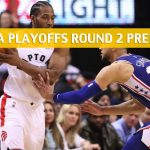 Philadelphia 76ers vs Toronto Raptors Predictions, Picks, Odds, and NBA Basketball Betting Preview - Eastern Conference Playoffs Round 2 Game 5 - May 7 2019
