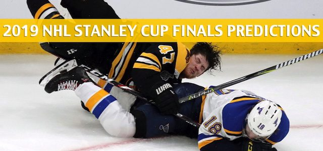 St Louis Blues vs Boston Bruins Predictions, Picks, Odds, Betting Preview – NHL Playoffs Stanley Cup Finals Game 2 – May 29 2019