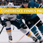 St Louis Blues vs San Jose Sharks Predictions, Picks, Odds and Betting Preview - NHL Playoffs Western Conference Finals Game 1 - May 11 2019