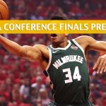 Milwaukee Bucks vs Toronto Raptors Predictions, Picks, Odds, and Betting Preview - NBA Playoffs Eastern Conference Finals Game 4 - May 21 2019