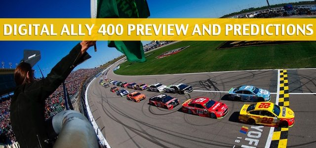 Digital Ally 400 Predictions, Picks, Odds, and Betting Preview – NASCAR Monster Energy Cup Series at Kansas Speedway – May 11 2019