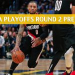 Denver Nuggets vs Portland Trail Blazers Predictions, Picks, Odds, and NBA Basketball Betting Preview - Western Conference Playoffs Round 2 Game 6 - May 9 2019