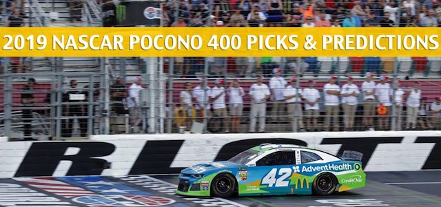 2019 Pocono 400 Predictions, Picks, Odds, and Betting Preview – NASCAR Monster Energy Cup Series Race – June 2 2019