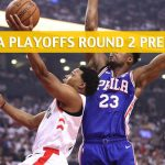 Toronto Raptors vs Philadelphia 76ers Predictions, Picks, Odds, and NBA Basketball Betting Preview - Eastern Conference Playoffs Round 2 Game 6 - May 9 2019