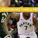 Toronto Raptors vs Milwaukee Bucks Predictions, Picks, Odds, and Betting Preview - NBA Playoffs Eastern Conference Finals Game 5 - May 23 2019