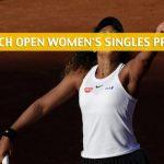 Anna Karolina Schmiedlova vs Naomi Osaka Predictions, Picks, Odds, and Betting Preview - French Open First Round - May 27 2019
