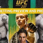 UFC 237 Predictions, Picks, Odds, and Betting Preview - Jared Cannonier vs Anderson Silva - May 11 2019