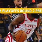 Golden State Warriors vs Houston Rockets Predictions, Picks, Odds, and NBA Basketball Betting Preview - Western Conference Playoffs Round 2 Game 4 - May 6 2019