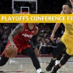 Golden State Warriors vs Portland Trail Blazers Predictions, Picks, Odds, and Betting Preview - NBA Playoffs Western Conference Finals Game 3 - May 18 2019