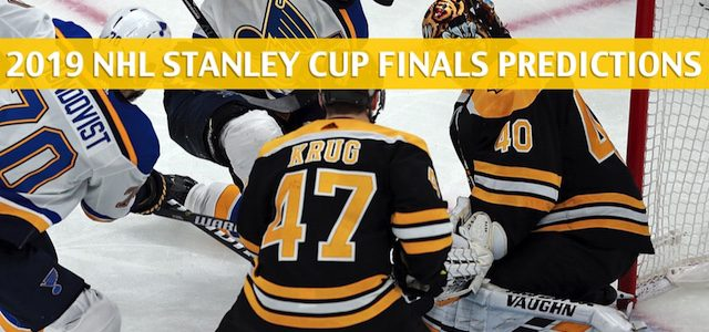 Boston Bruins vs St Louis Blues Predictions, Picks, Odds, and Betting Preview – NHL Stanley Cup Finals Game 4 – June 3 2019