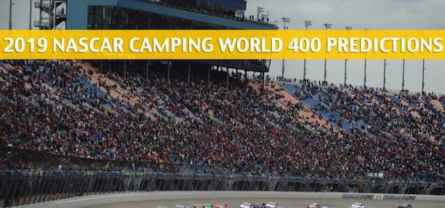 Camping World 400 Predictions, Picks, Odds, and Betting Preview – Monster Energy Cup Series Race – June 30 2019