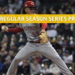 Cincinnati Reds vs Milwaukee Brewers Predictions, Picks, Odds, and Betting Preview - Season Series June 20-23 2019