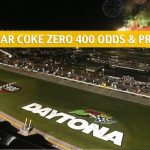 Coke Zero 400 Predictions, Picks, Odds, and Betting Preview - July 6 2019